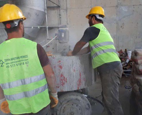 Bina içi çimento enjeksiyonu ile zemin iyileştirme